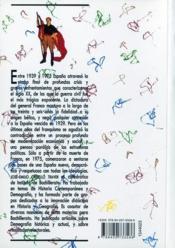 Espa a siglo xx - 4ème de couverture - Format classique
