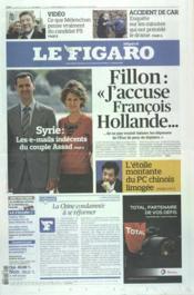 Figaro (Le) N°21033 du 16/03/2012 - Couverture - Format classique