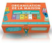 Organisation de la maison ; 4 check-lists à personnaliser et 40 magnets  - Lynda Corazza - Anne-Claire Kleindienst