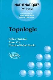 Topologie Mathematiques 2e Cycle - Intérieur - Format classique