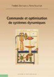 Commande Et Optimisation De Systemes Dynamiques - Intérieur - Format classique