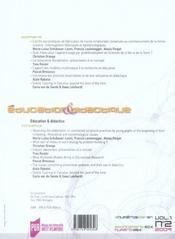 Éducation et didactique t.2 - 4ème de couverture - Format classique