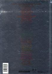 Résidents 2003-2007 Paris - 4ème de couverture - Format classique