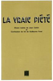 La Vraie Piete - Couverture - Format classique