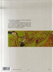 Thomas Lestrange - 4ème de couverture - Format classique