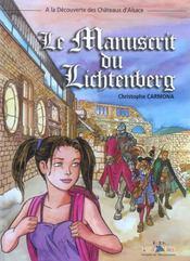 Les aventures d'Aline t.1 ; le manuscrit du Lichtenberg - Intérieur - Format classique