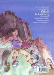 Les aventures d'Aline t.1 ; le manuscrit du Lichtenberg - 4ème de couverture - Format classique
