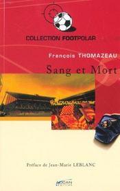 Sang Et Mort - Intérieur - Format classique