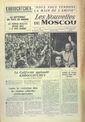 Nouvelles De Moscou (Les) N°76 du 23/09/1959 - Couverture - Format classique