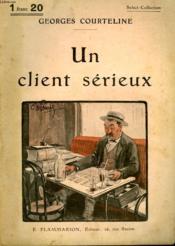 Un Client Serieux. Collection : Select Collection N° 235 - Couverture - Format classique