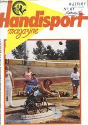 HANDISPORT MAGAZINE 26e ANNEE N°61 - Couverture - Format classique