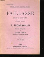 Paillasse - Couverture - Format classique