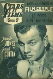 Stars Et Films - N°12 - Le Poids D'Un Mensonge - Couverture - Format classique