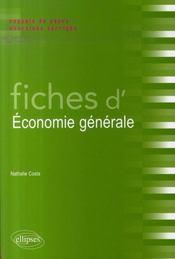 Fiches d'économie générale - Intérieur - Format classique