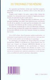 Des Toxicomanes Et Des Medecins ; Un Drame En Trois Actes Et Quarante-Sept Tableaux - 4ème de couverture - Format classique