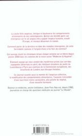 Journal De La Vache Folle - 4ème de couverture - Format classique