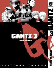 Gantz t.3 - Couverture - Format classique