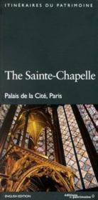 Sainte Chapelle (Version Anglaise) (La) - Couverture - Format classique