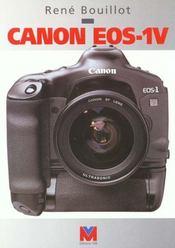 Canon Eos-1v - Intérieur - Format classique
