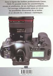 Canon Eos-1v - 4ème de couverture - Format classique