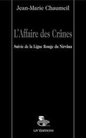 L'Affaire Des Cranes - Couverture - Format classique