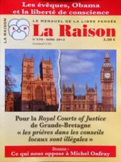 Raison (La) N°570 du 01/04/2012 - Couverture - Format classique