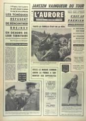 Aurore (L') N°7430 du 22/07/1968 - Couverture - Format classique