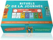 Rituels de la journée ; 4 check-lists à personnaliser et 56 magnets recto verso  - Lynda Corazza - Anne-Claire Kleindienst
