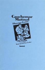 Cauchemar Matinal - Couverture - Format classique