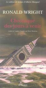 Chronique Des Jours A Venir - Intérieur - Format classique