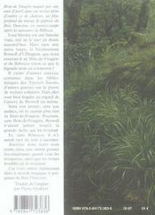 Le bois Duncton - 4ème de couverture - Format classique