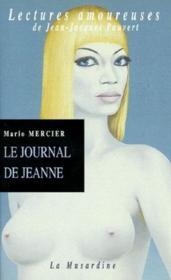 Le journal de Jeanne - Couverture - Format classique