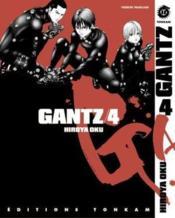 Gantz t.4 - Couverture - Format classique