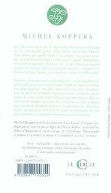 La Seconde Vie De Maximilien Bemol - 4ème de couverture - Format classique