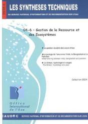 Gestion De La Ressource Et Des Ecosystemes Les Syntheses Techniques Du Service National D'Informatio - Couverture - Format classique