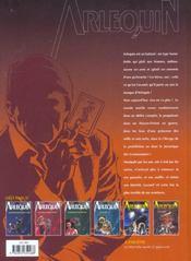 Arlequin t.6 ; le labyrinthe - 4ème de couverture - Format classique
