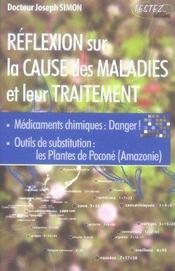 Réflexion sur la cause des maladies et leur traitement - Intérieur - Format classique