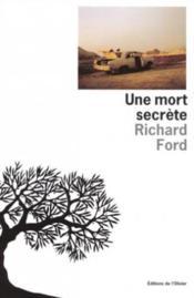 Une Mort Secrete - Couverture - Format classique