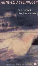 Contes Des Jours Voles (Les) - Couverture - Format classique