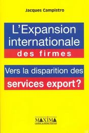 Vente  Expansion international firmes  - Jacques Campistro
