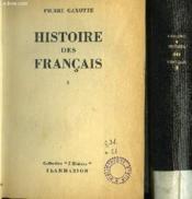 Histoire Des Francais I Et Ii. - Couverture - Format classique