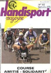 HANDISPORT MAGAZINE 26e ANNEE N°60 - Couverture - Format classique