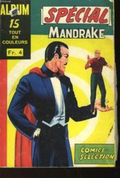 Album Special Mandrake N°15 - N° 77 - N° 66 - N° 58 - Couverture - Format classique