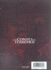 Les contes de terremer t.1 - 4ème de couverture - Format classique