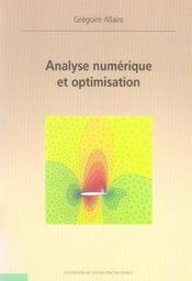 Analyse Numerique Et Optimisation - Intérieur - Format classique