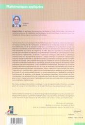 Analyse Numerique Et Optimisation - 4ème de couverture - Format classique