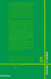 Politique du logement ; 50 ans pour un échec - 4ème de couverture - Format classique