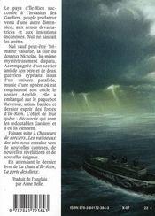 La chute d'Ile-rien t.2 ; les vaisseaux des airs - 4ème de couverture - Format classique