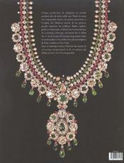 Bijoux De Maharajas - 4ème de couverture - Format classique