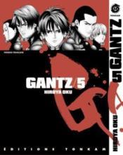 Gantz t.5 - Couverture - Format classique